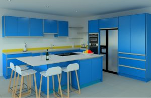 The cost of a large plywood kitchen from Koivu