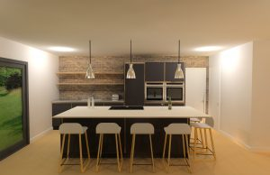 The cost of a medium plywood kitchen from Koivu