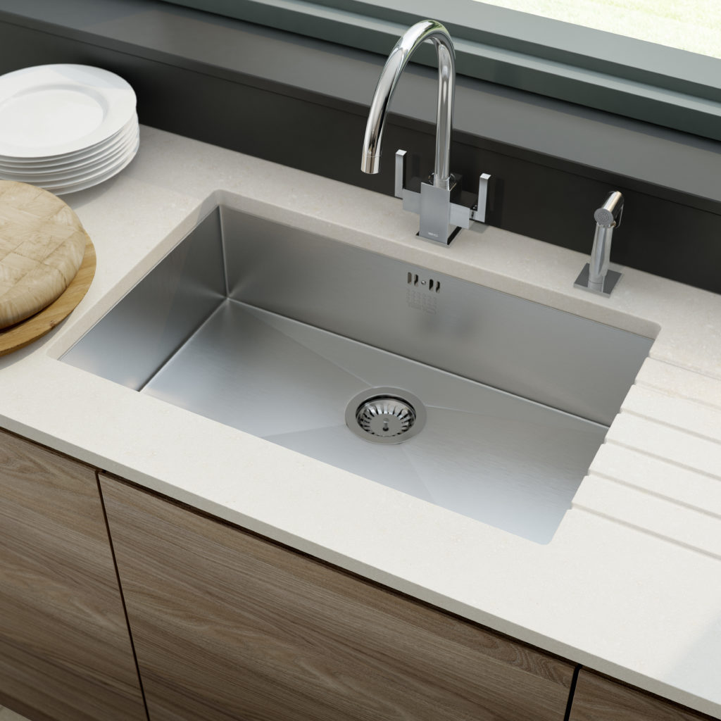 Tap and sink