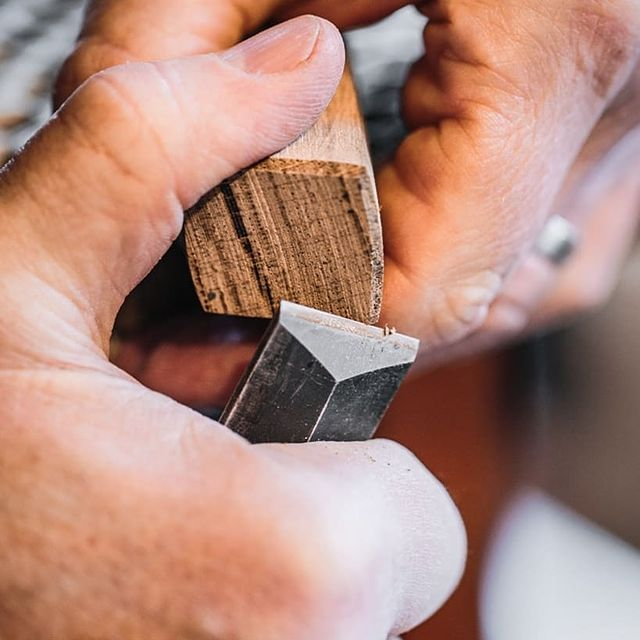 Craftsman at work  - Par Avion sustainable furniture making