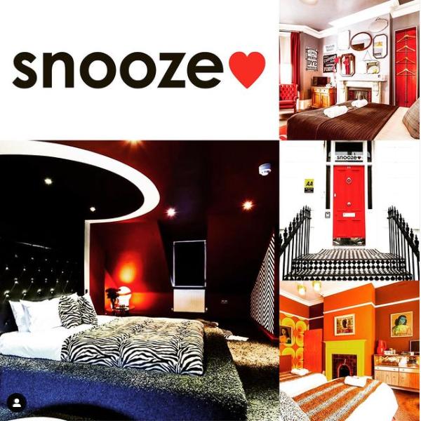 Snooze bedrooms